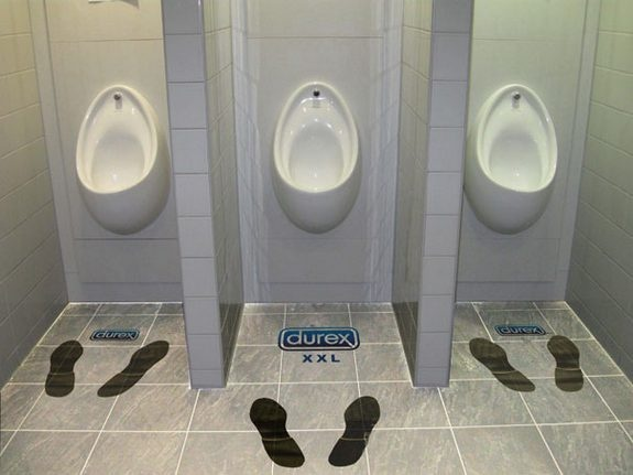 Durex - Toilet Guerilla Marketing