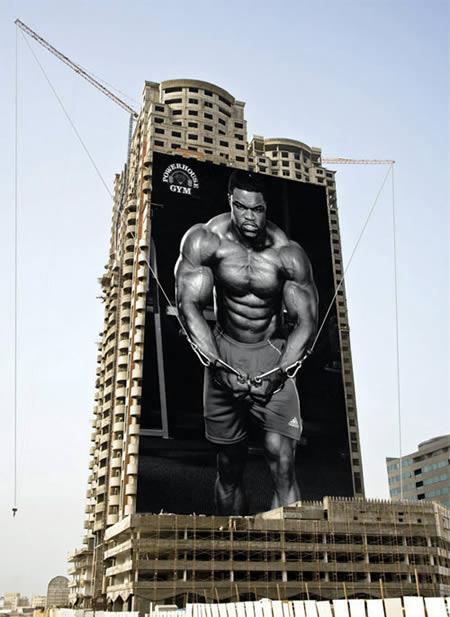 marketing ad for gym