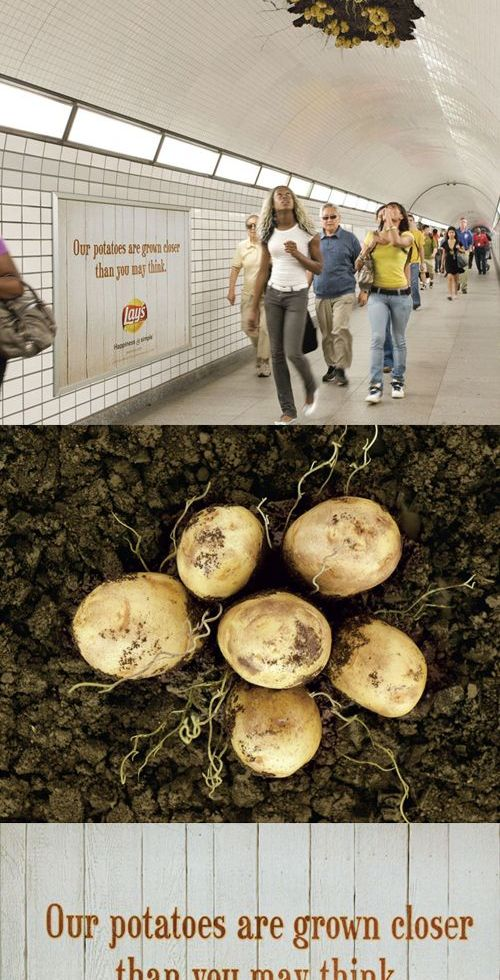 Lays - fresh potatoes