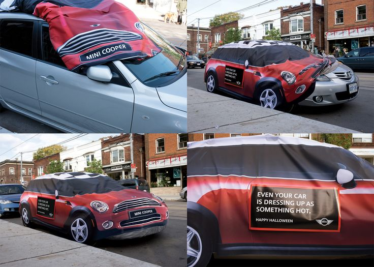 mini cooper guerilla marketing