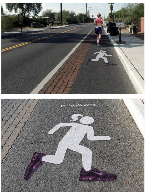 Nike - Running Street Marketing