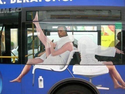 Niveau - bus ad