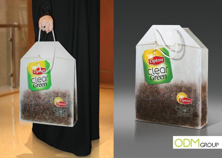 Lipton Tea hand bag