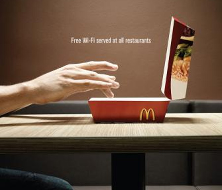 MC Donalds - Free Wifi Ad