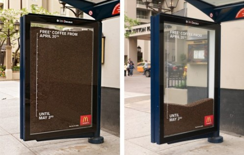 MC Donalds - Free Coffee Ad