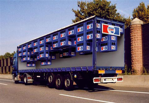 Pepsi Light Truck Ad