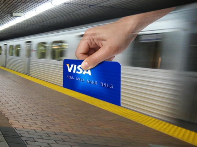 Visa Subway Metro