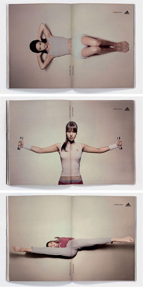 adidas - magazine fitness ad