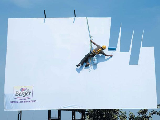 billboard marketing paint