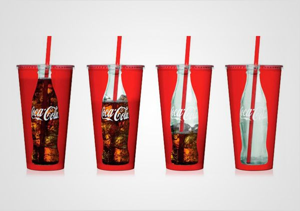 coca cola ad creative packaging