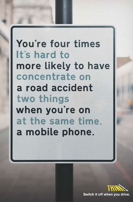 do not text during driving