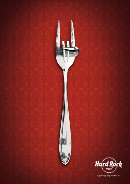 hard rock cafe - fork ad