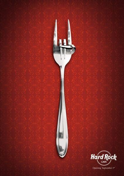 hard rock cafe - fork ad