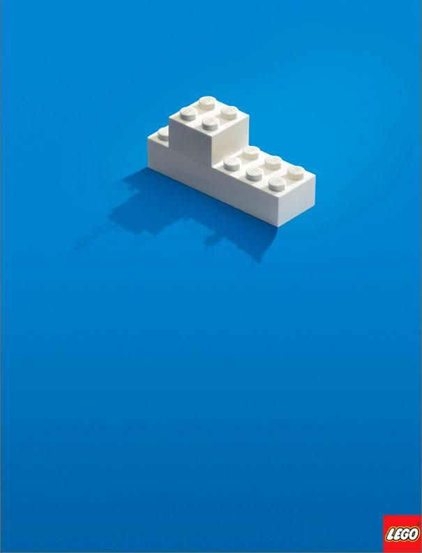 lego ad - lego brick