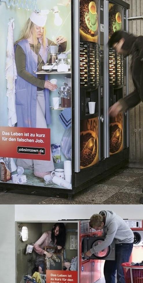 life is to short for the wrong job - jobsintown.de