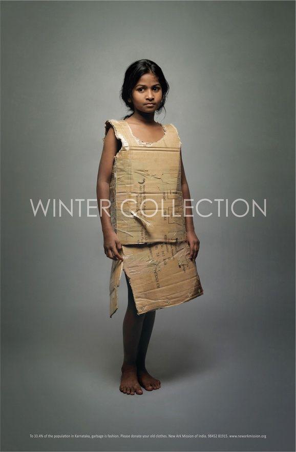 non profit ad - garbage is fashion