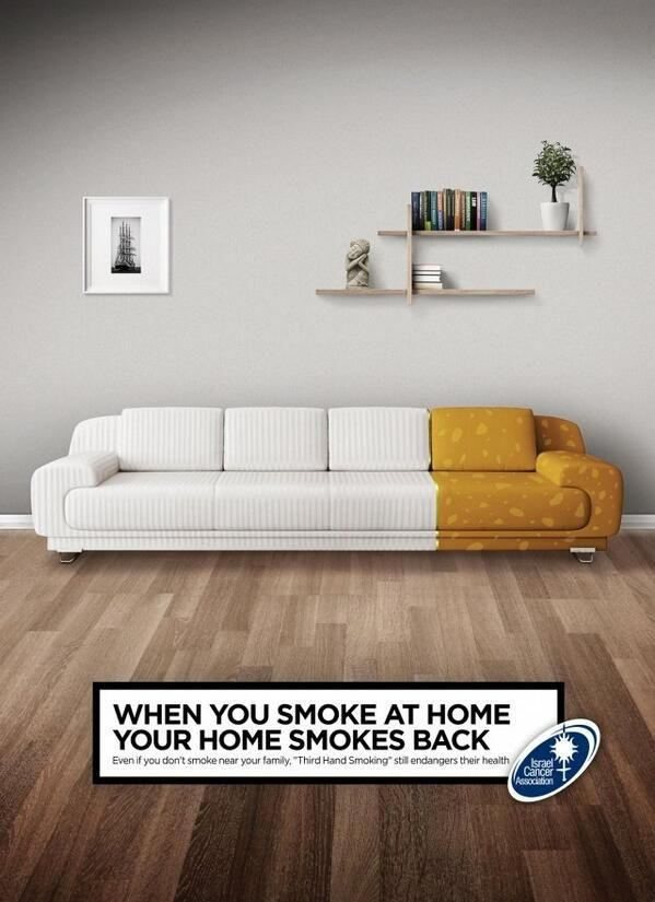 Non Profit Ad- smoke at home