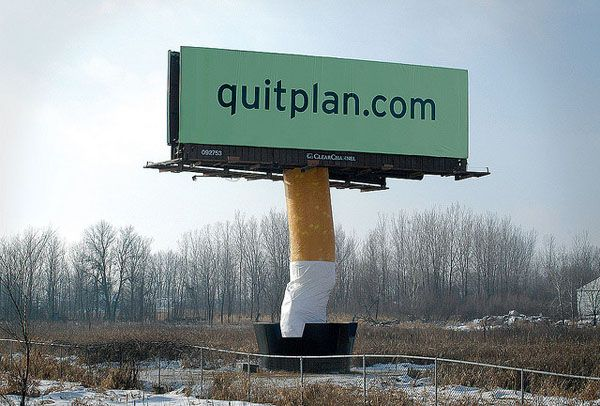 Billboard marketing - Stop Smoking